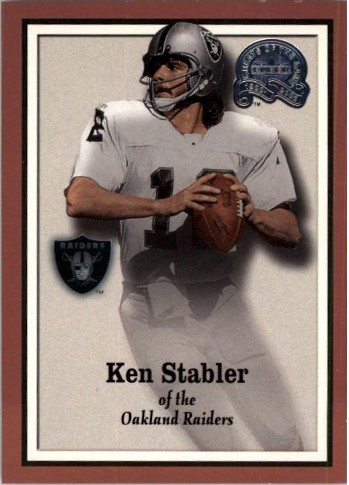2000 Greats of the Game #27 Ken Stabler