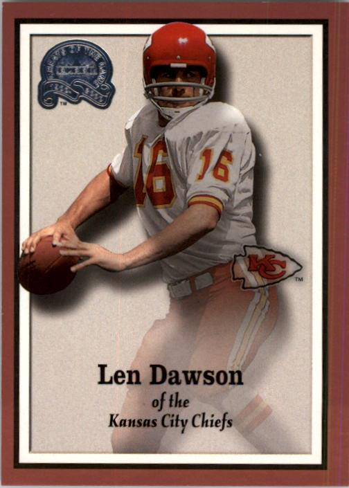 2000 Greats of the Game #40 Len Dawson