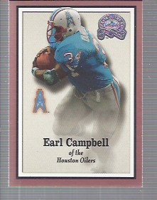2000 Greats of the Game #52 Earl Campbell front image