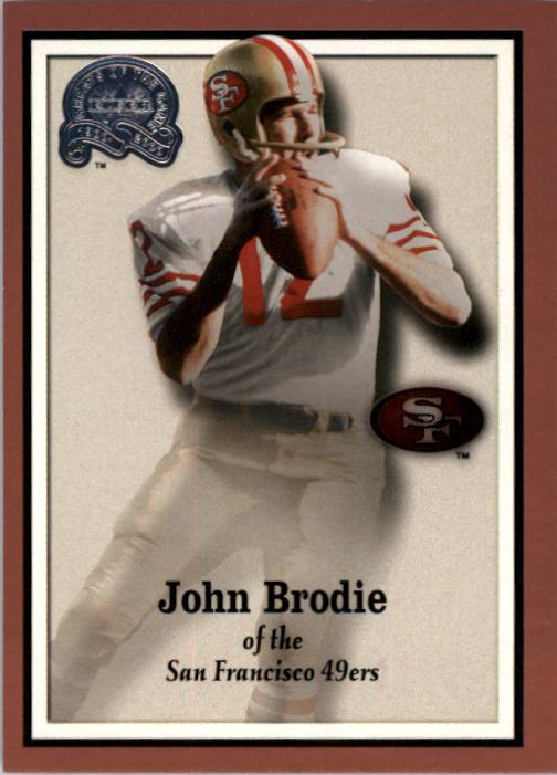 2000 Greats of the Game #60 John Brodie