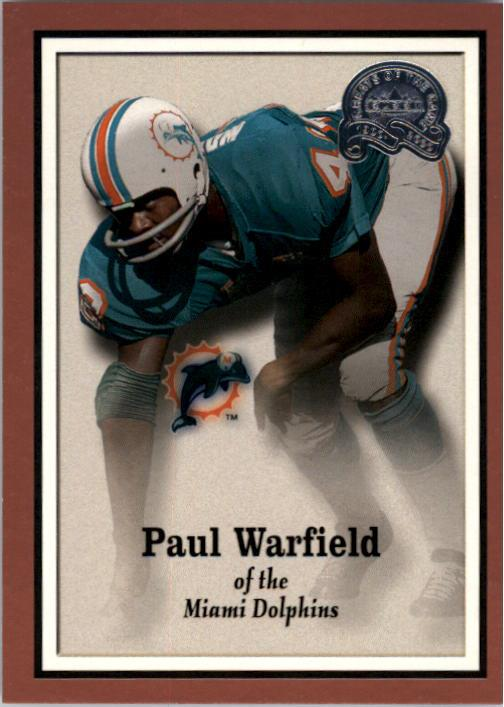 2000 Greats of the Game #69 Paul Warfield