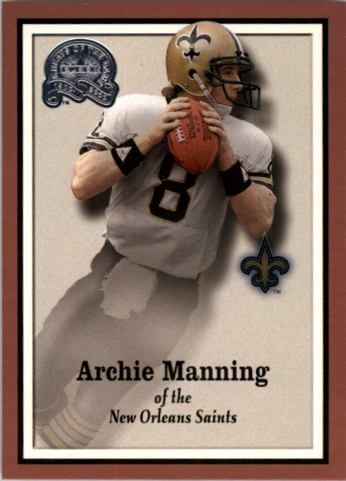 2000 Greats of the Game #72 Archie Manning