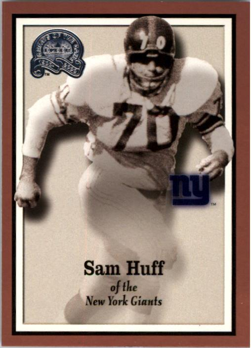 2000 Greats of the Game #77 Sam Huff