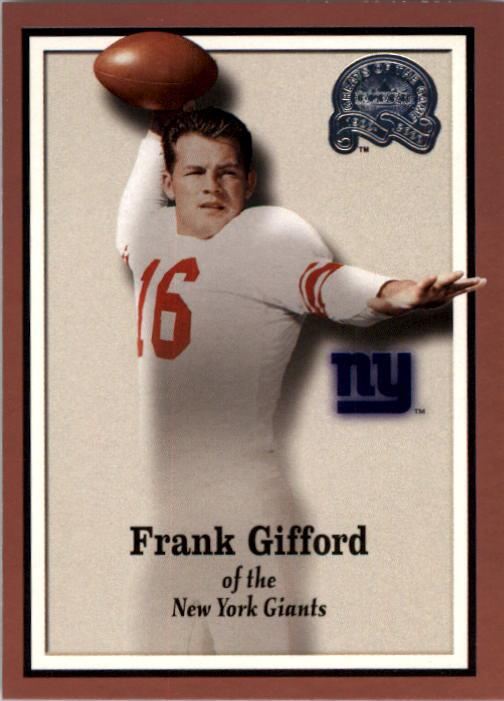 2000 Greats of the Game #80 Frank Gifford