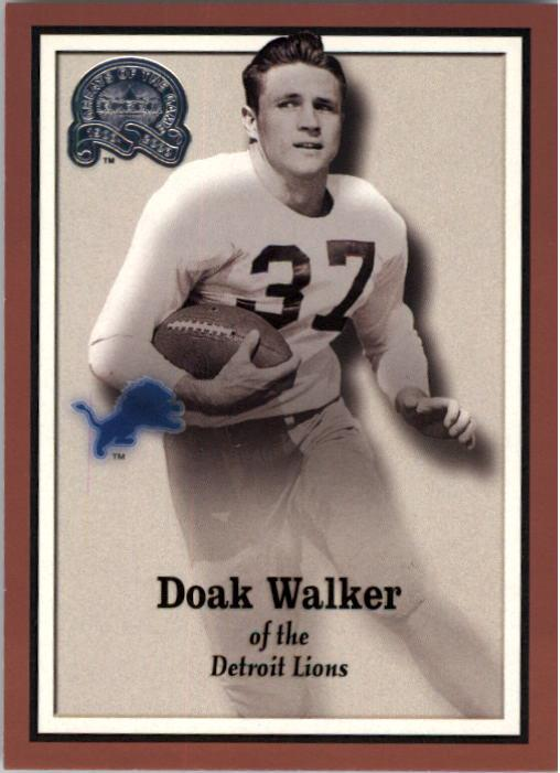 2000 Greats of the Game #83 Doak Walker front image