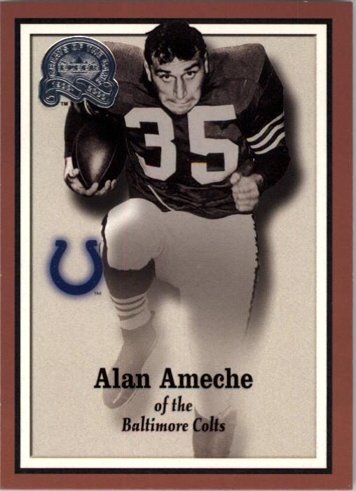 2000 Greats of the Game #86 Alan Ameche
