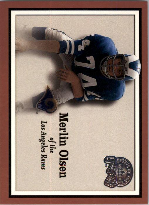 2000 Greats of the Game #87 Merlin Olsen