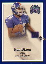 2000 Greats of the Game #127 Ron Dixon RC