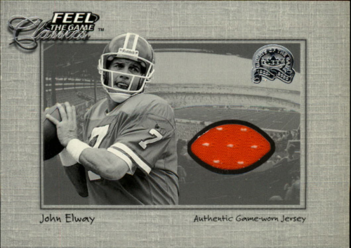 2000 Greats of the Game Feel The Game Classics #5 John Elway