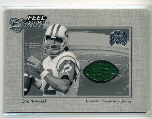 2000 Greats of the Game Feel The Game Classics #14 Joe Namath