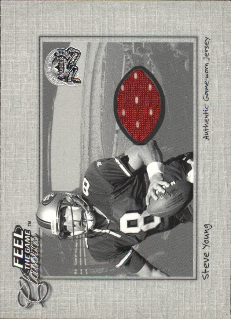 2000 Greats of the Game Feel The Game Classics #23 Steve Young