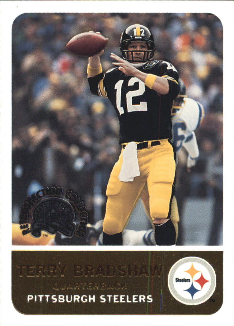 2000 Greats of the Game Retrospection Collection #1RC Terry Bradshaw