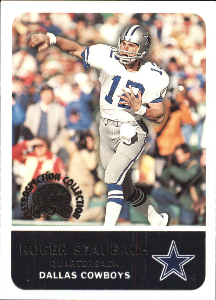 2000 Greats of the Game Retrospection Collection #3RC Roger Staubach