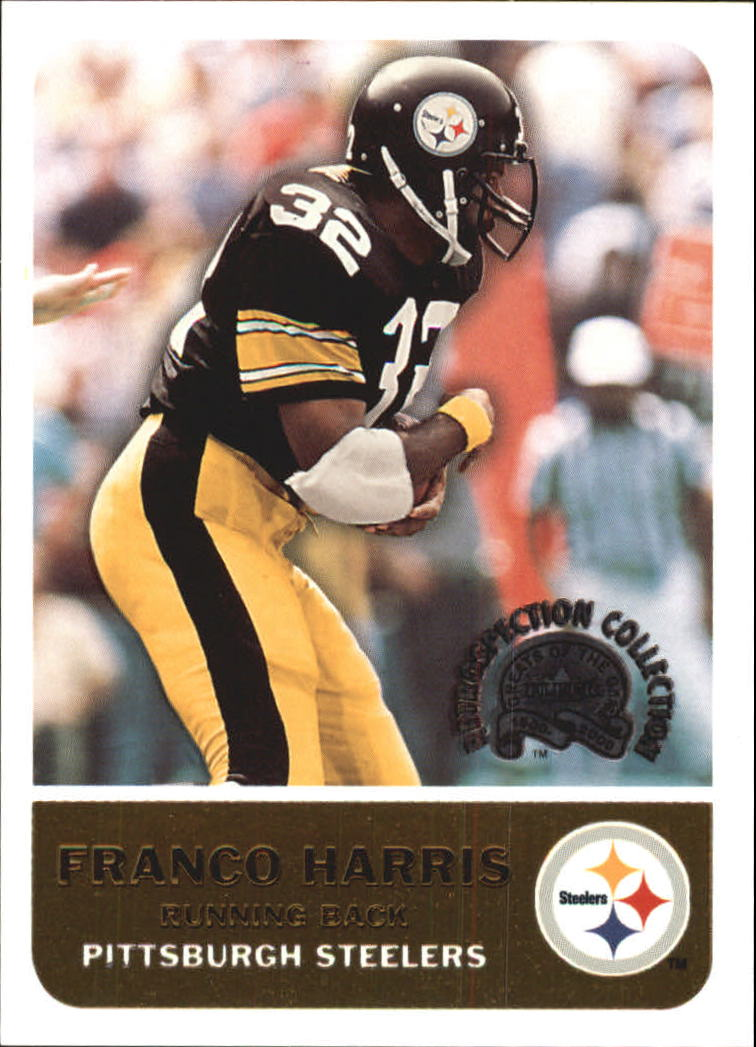 2000 Greats of the Game Retrospection Collection #4RC Franco Harris