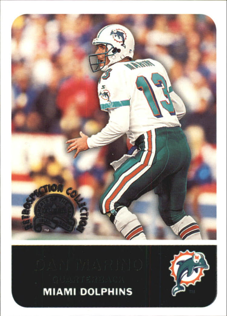 2000 Greats of the Game Retrospection Collection #6RC Dan Marino