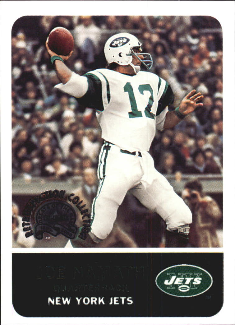 2000 Greats of the Game Retrospection Collection #8RC Joe Namath