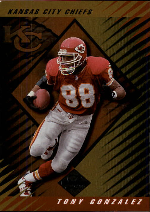 2000 Leaf Limited #130 Tony Gonzalez