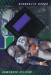 2000 Leaf Limited #422 Shaun Alexander J/FB/1000 RC