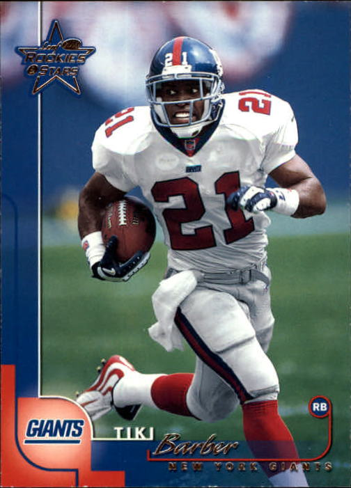2000 Leaf Rookies and Stars #79 Tiki Barber