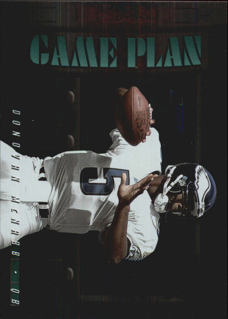 2000 Leaf Rookies and Stars Game Plan #GP21 Donovan McNabb