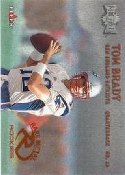 2000 Metal #267 Tom Brady RC