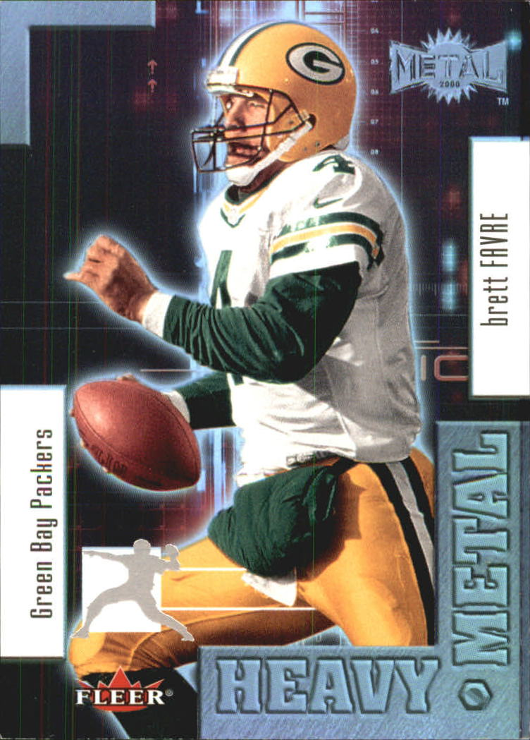 2000 Metal Heavy Metal #9 Brett Favre