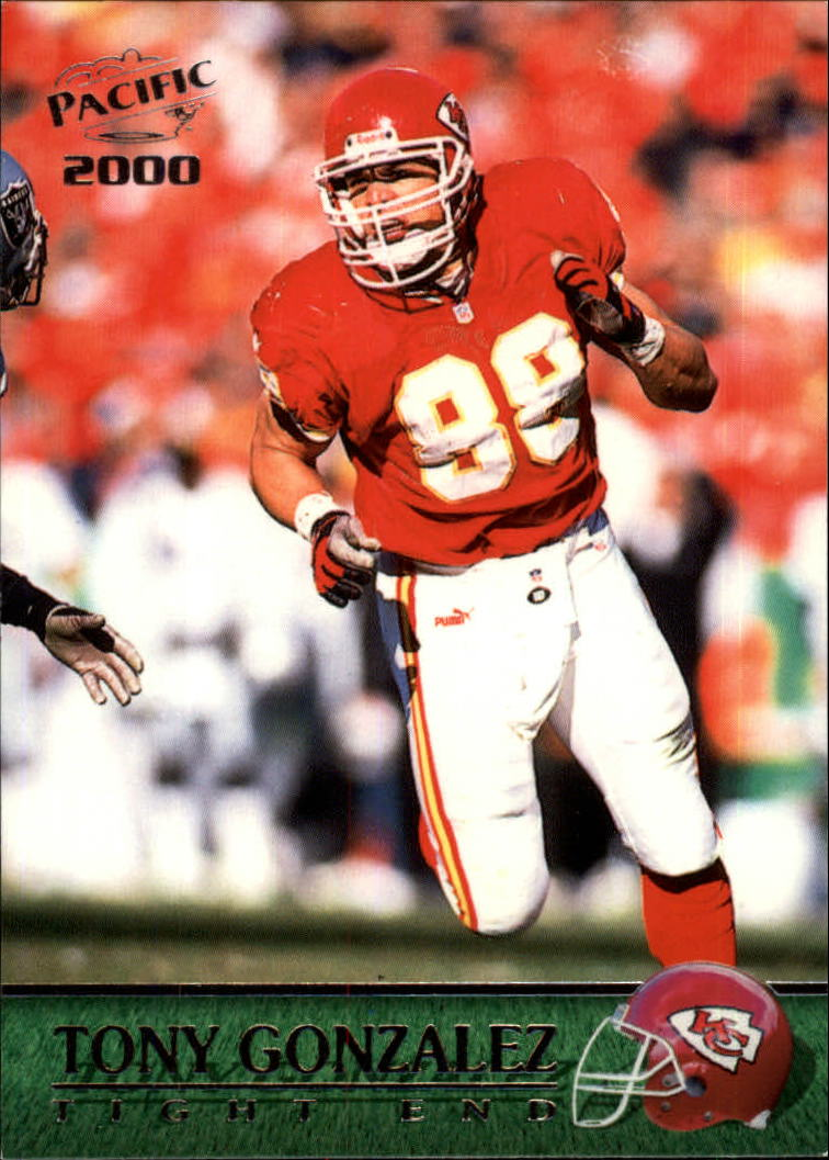 2000 Pacific #178 Tony Gonzalez