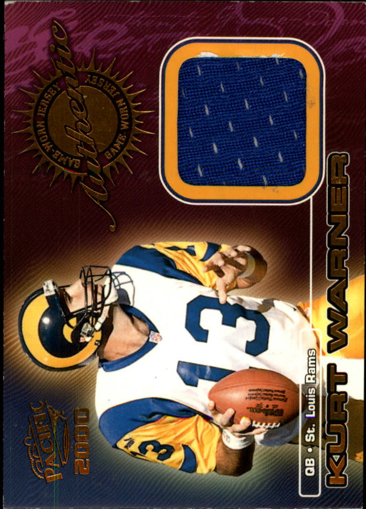 2000 Pacific Game Worn Jerseys #1 Kurt Warner