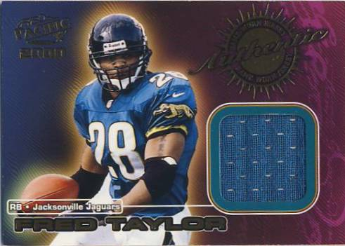 2000 Pacific Game Worn Jerseys #2 Fred Taylor