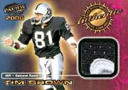 2000 Pacific Game Worn Jerseys #5 Tim Brown