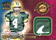 2000 Pacific Game Worn Jerseys #6 Brett Favre