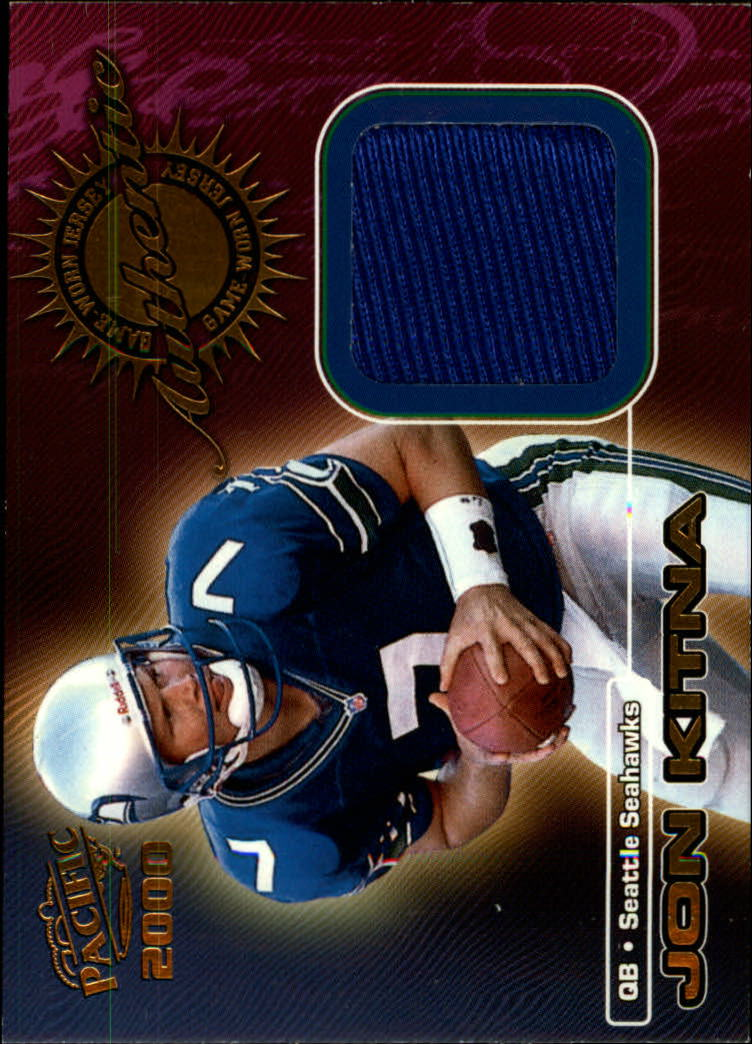 2000 Pacific Game Worn Jerseys #7 Jon Kitna