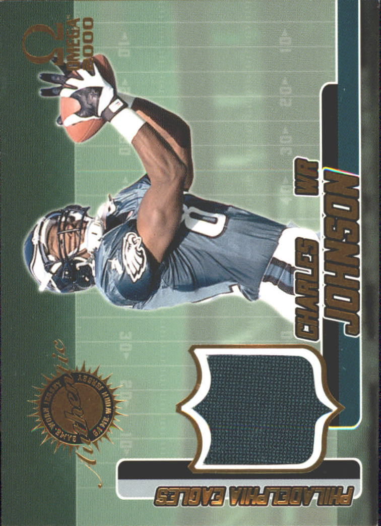 2000 Pacific Omega Game Worn Jerseys #6 Charles Johnson