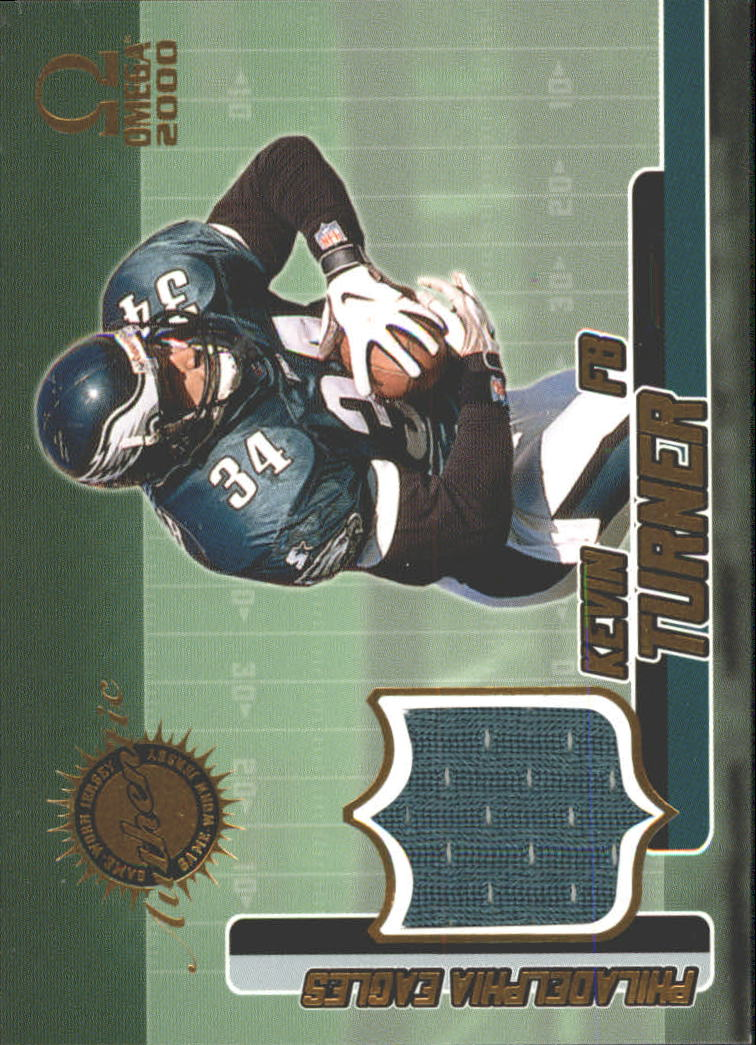 2000 Pacific Omega Game Worn Jerseys #8 Kevin Turner