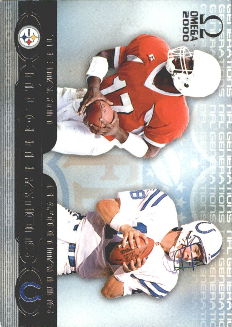 2000 Pacific Omega Generations #9 Peyton Manning/Tee Martin