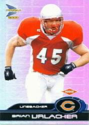 2000 Pacific Prism Prospects #116 Brian Urlacher RC