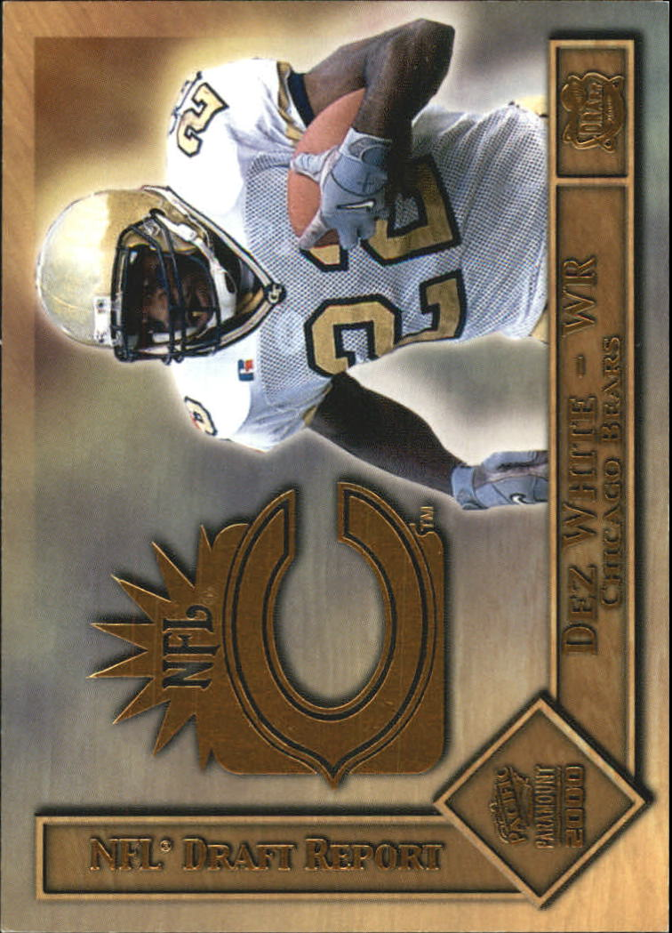2000 Paramount Draft Report #6 Dez White