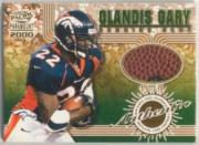 2000 Paramount Game Used Footballs #3 Olandis Gary