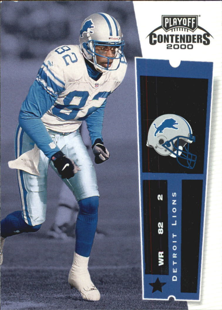 2000 Playoff Contenders #34 Germane Crowell