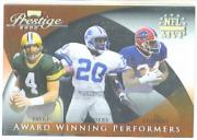2000 Playoff Prestige Award Winning Materials #AW4 Thurman Thomas/Barry Sanders/Brett Favre