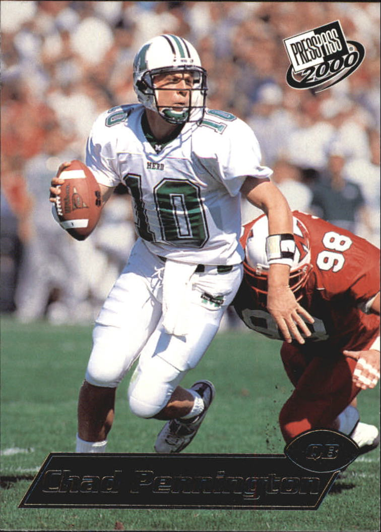2000 Press Pass #5 Chad Pennington