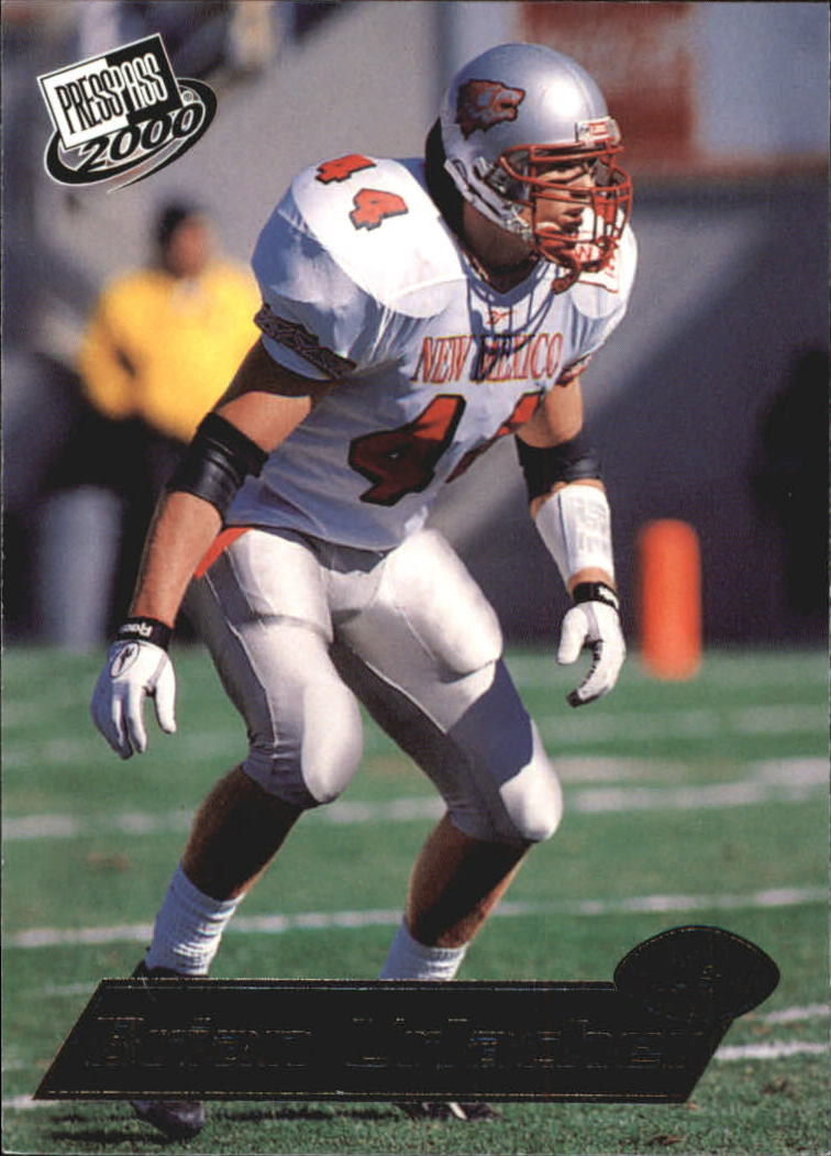 2000 Press Pass #8 Brian Urlacher