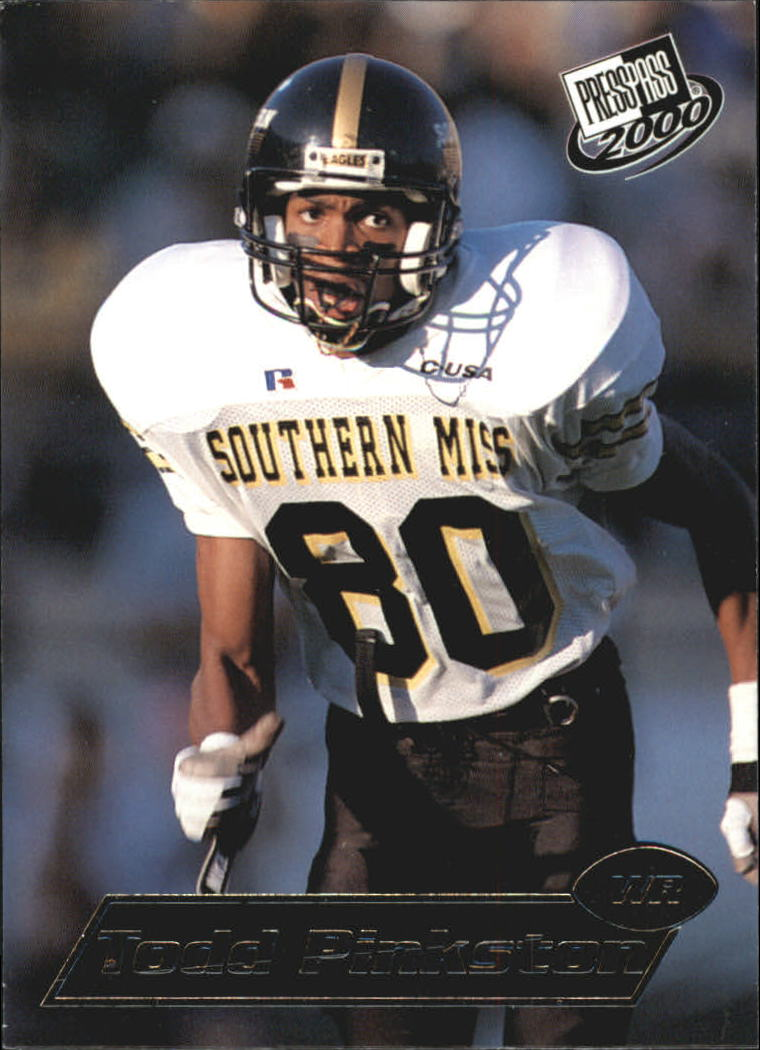 2000 Press Pass #20 Todd Pinkston