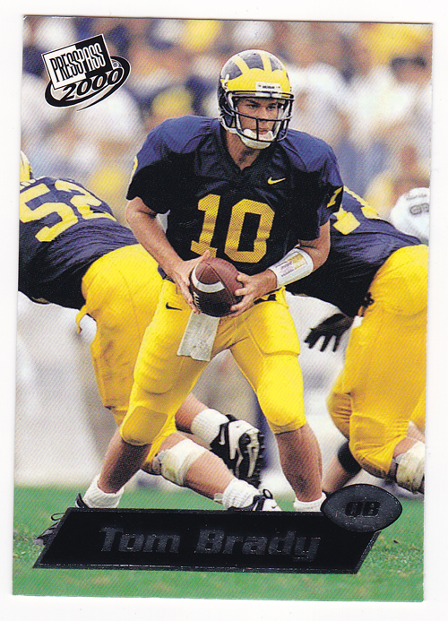 2000 Press Pass #37 Tom Brady