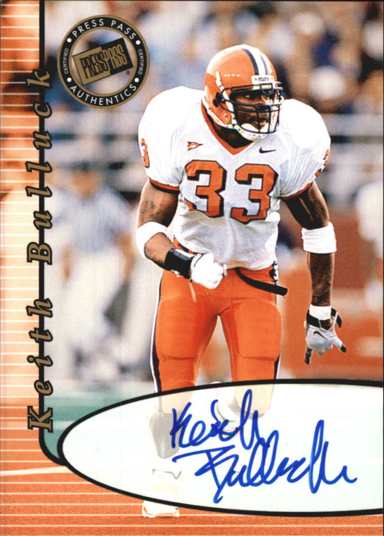 2000 Press Pass Autographs #5 Keith Bulluck