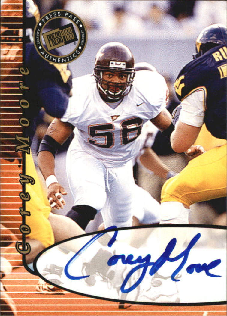 2000 Press Pass Autographs #30 Corey Moore