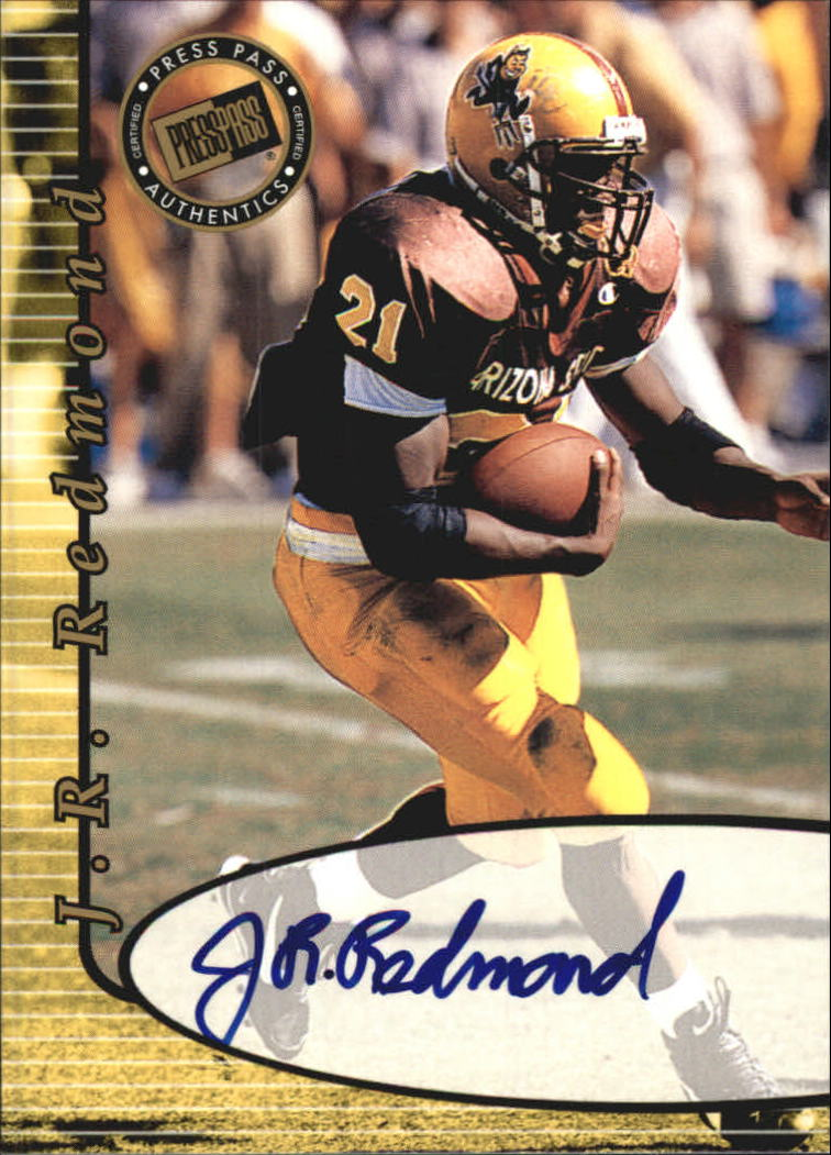 2000 Press Pass Autographs #41 J.R. Redmond