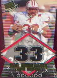 2000 Press Pass Big Numbers Die Cuts #BN2 Ron Dayne
