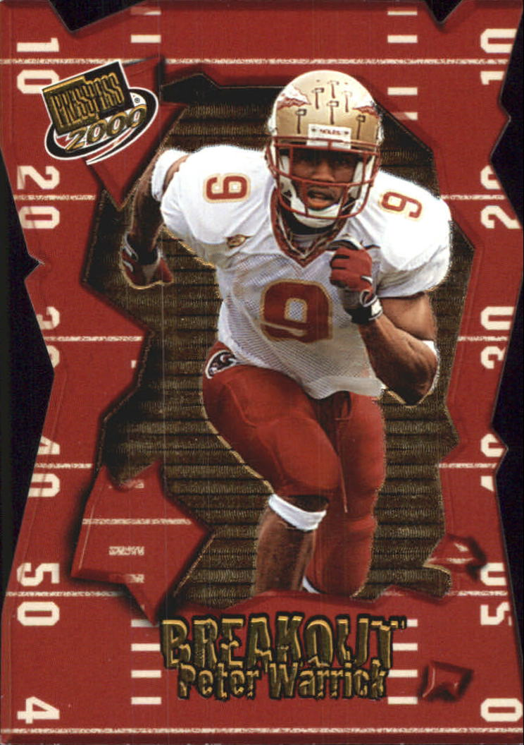 2000 Press Pass Breakout #BO1 Peter Warrick