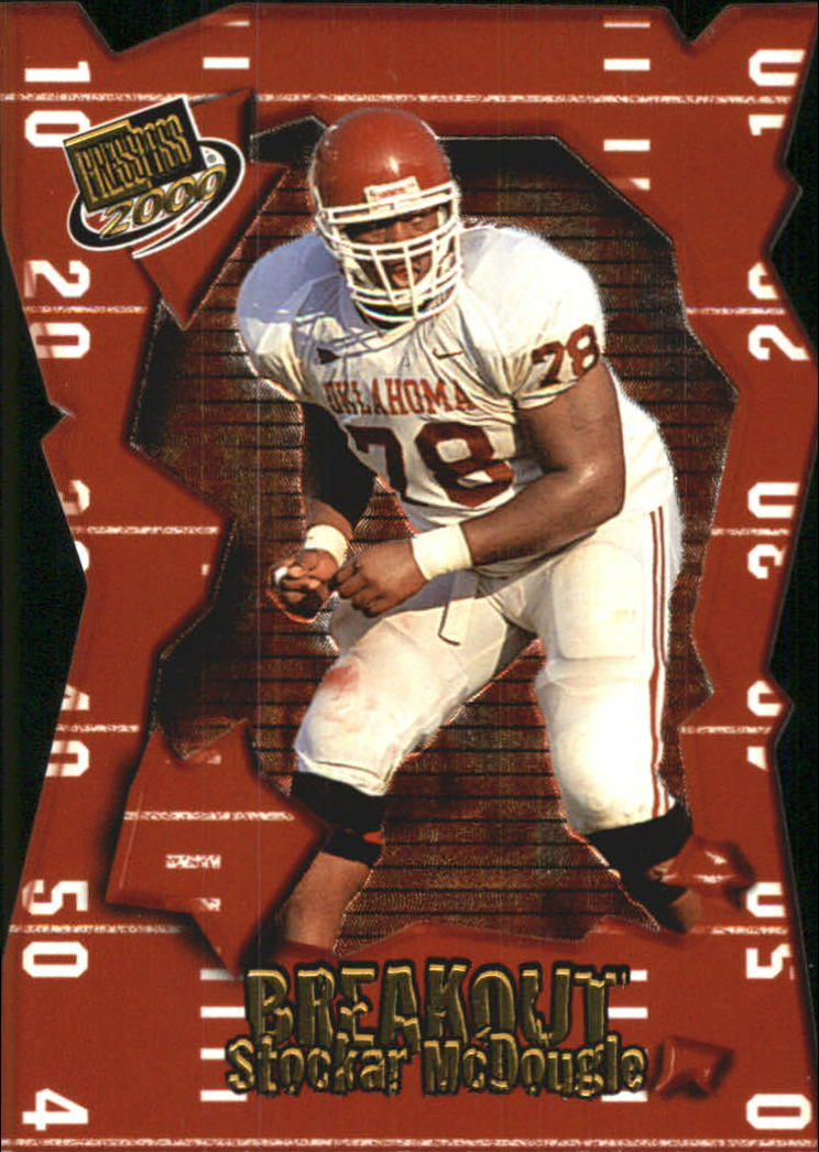 2000 Press Pass Breakout #BO11 Stockar McDougle
